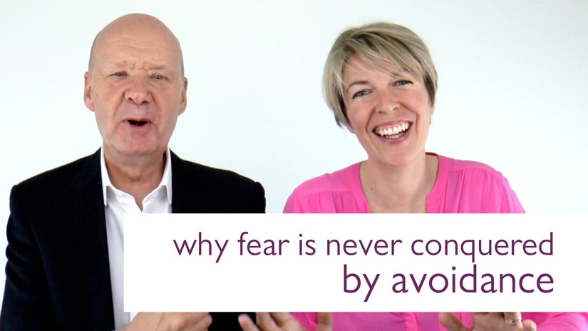 why fear is never conquered by avoidance